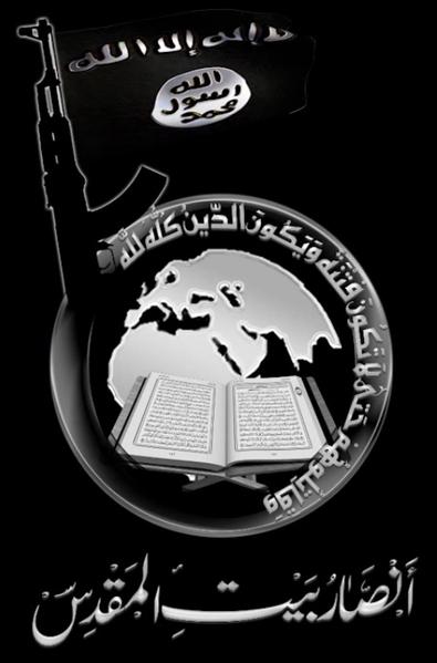 Il simbolo di Ansar al-Bayt Maqdis