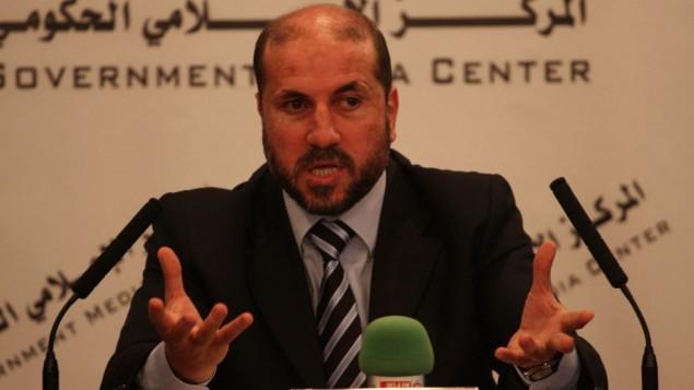 Mahmoud Al-Habbash, ministro dell'Autorità Palestinese per gli affari religiosi