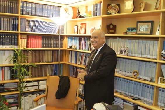 Salim Joubran, arabo israeliano, giudice della Corte Suprema