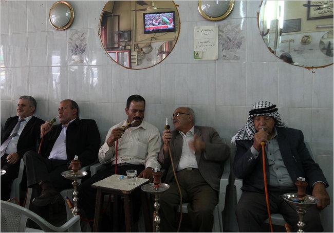 In un caffè arabo