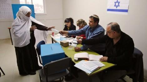 Una cittadina araba israeliana al voto