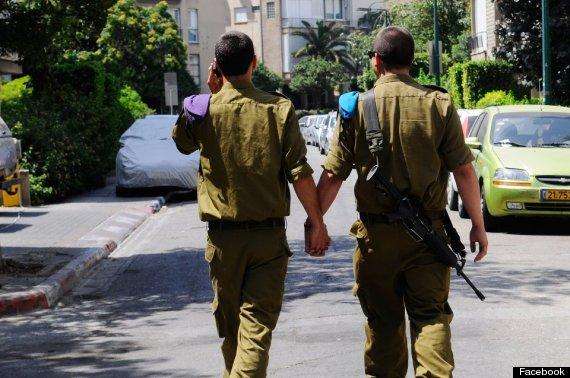 Dalla pagina ufficiale su Facebook delle Forze di Difesa israeliane, in occasione del Gay Pride 2012