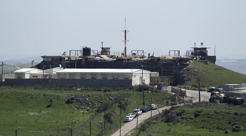 La base militare sul Golan presso cui è stato istituito l'ospedale da campo per i feriti siriani