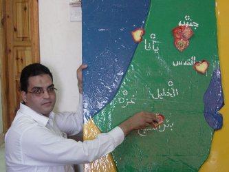 La mappa delle rivendicazioni palestinesi è sempre la stessa: Israele è cancellato dalla carta geografica