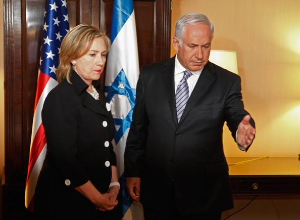 Incontra fra Hillary Clinton e Benjamin Netanyahu nell'agosto 2013