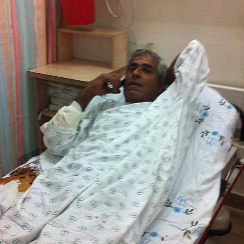 Yaron Shadadi in ospedale