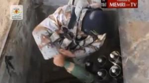 Lancia razzi di Hamas