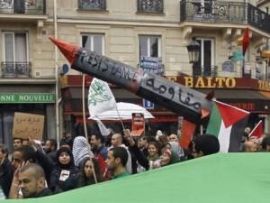 Manifestazione a Parigi
