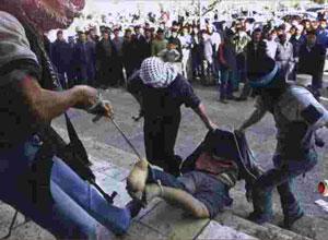 Violenze dei terroristi di Hamas al potere nella striscia di Gaza