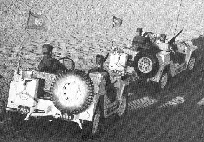 Soldati Onu nel Sinai