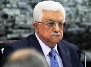Il presidente dell'Autorità Palestinese Mahmoud Abbas (Abu Mazen)