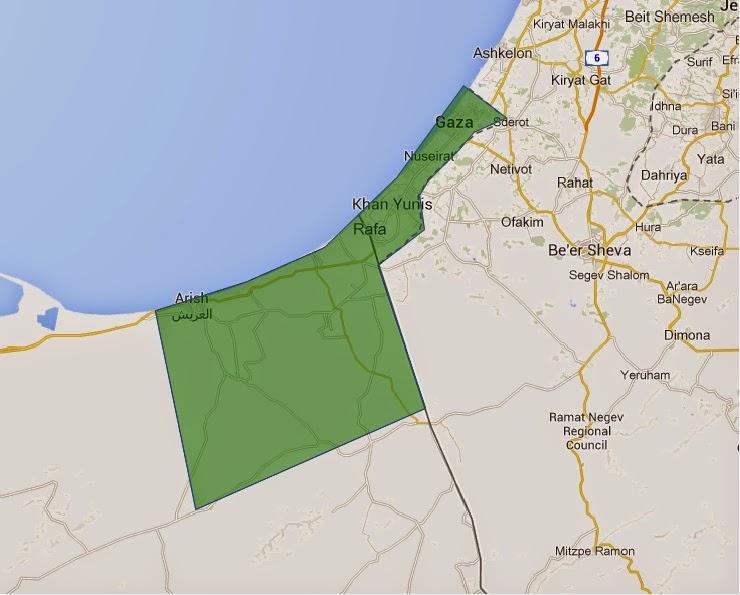 Ipotetica ricostruzione della proposta egiziana