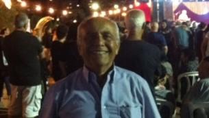 Haviv Saidoff alla festa della Saharana 2014