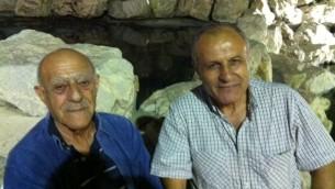 Yossi Mizrahi (a destra) con un amico originario dell'Iraq