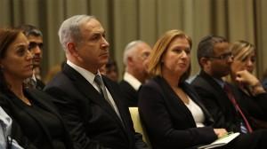 Netanyahu e l'ex ministra della giustizia Tzipi Livni
