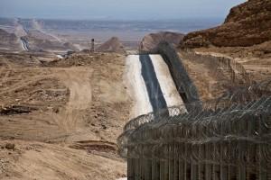 Negev: il confine fra Israele ed Egitto