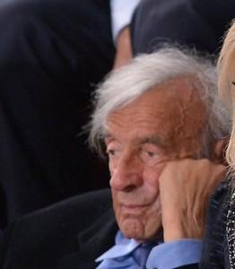 Elie Wiesel assiste al discorso di Netanyahu al Congresso