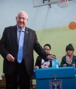 Il presidente d'Israele Reuven Rivlin