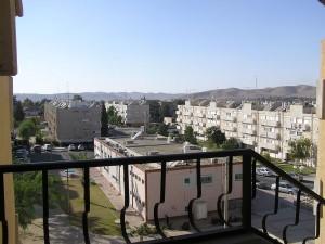 La città di Dimona, nel Negev