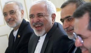 Il ministro degli esteri iraniano Mohammad Javad Zarif a Vienna