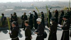 Domenica delle Palme a Gerusalemme