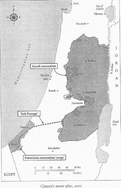 "Lo stato palestinese che esisterebbe da 15 anni se i palestinesi non avessero rifiutato i ""parametri Clinton"""