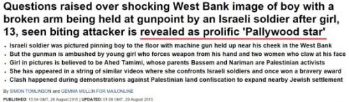 La seconda versione del Daily Mail