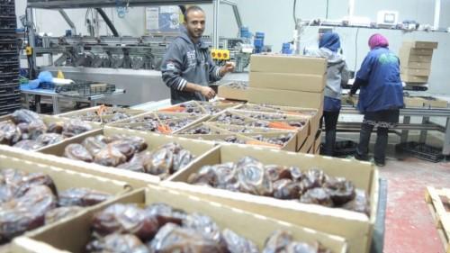 Lavoratore palestinese in una fabbrica israeliana nella Valle del Giordano