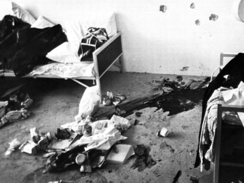 Monaco 1972. L'interno della palazzina dell'orrore