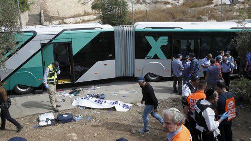 La scena dell'attentato perpetrato da Baha Aliyan