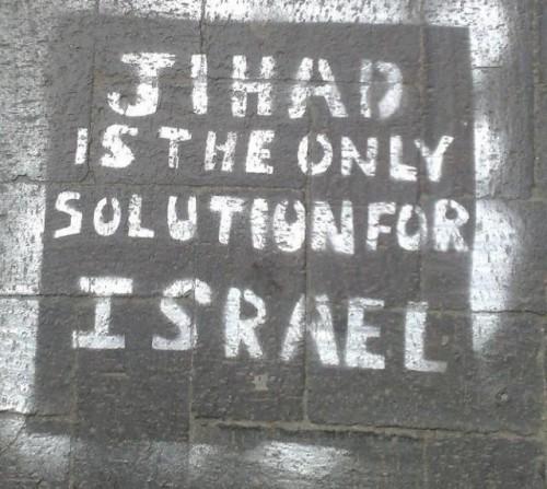 """""""La jihad è l'unica soluzione per Israele"""". Combattenti per la libertà?"""