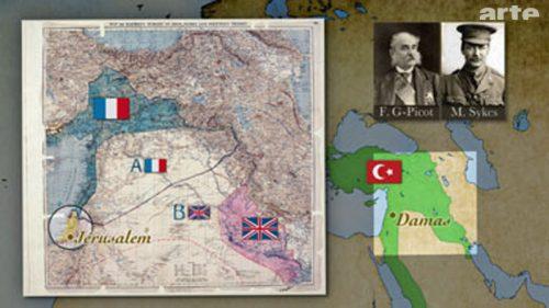 Gli accordi Sykes-Picot (1916)