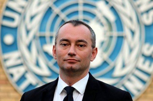 Il diplomatico bulgaro Nikolay Mladenov, dal febbraio 2015 Coordinatore speciale Onu per il processo di pace in Medio Oriente