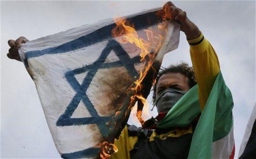 Manifestazione anti-israeliana in Europa