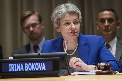 Irina Bokova, attuale direttrice Unesco, possibile candidata bulgara a Segretario generale Onu