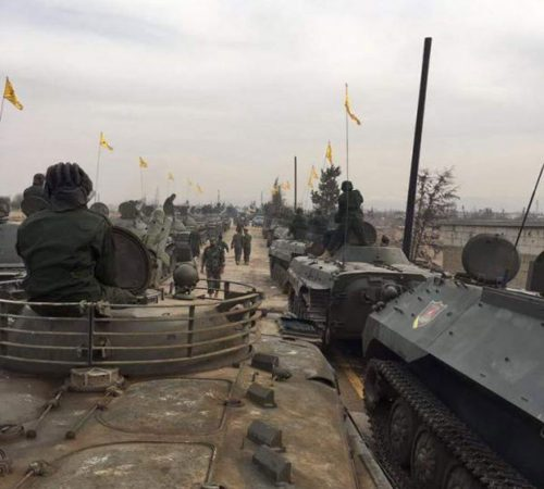 Hezbollah: carri armati e blindati trasporto truppe APC (Armoured Personnel Carrier)