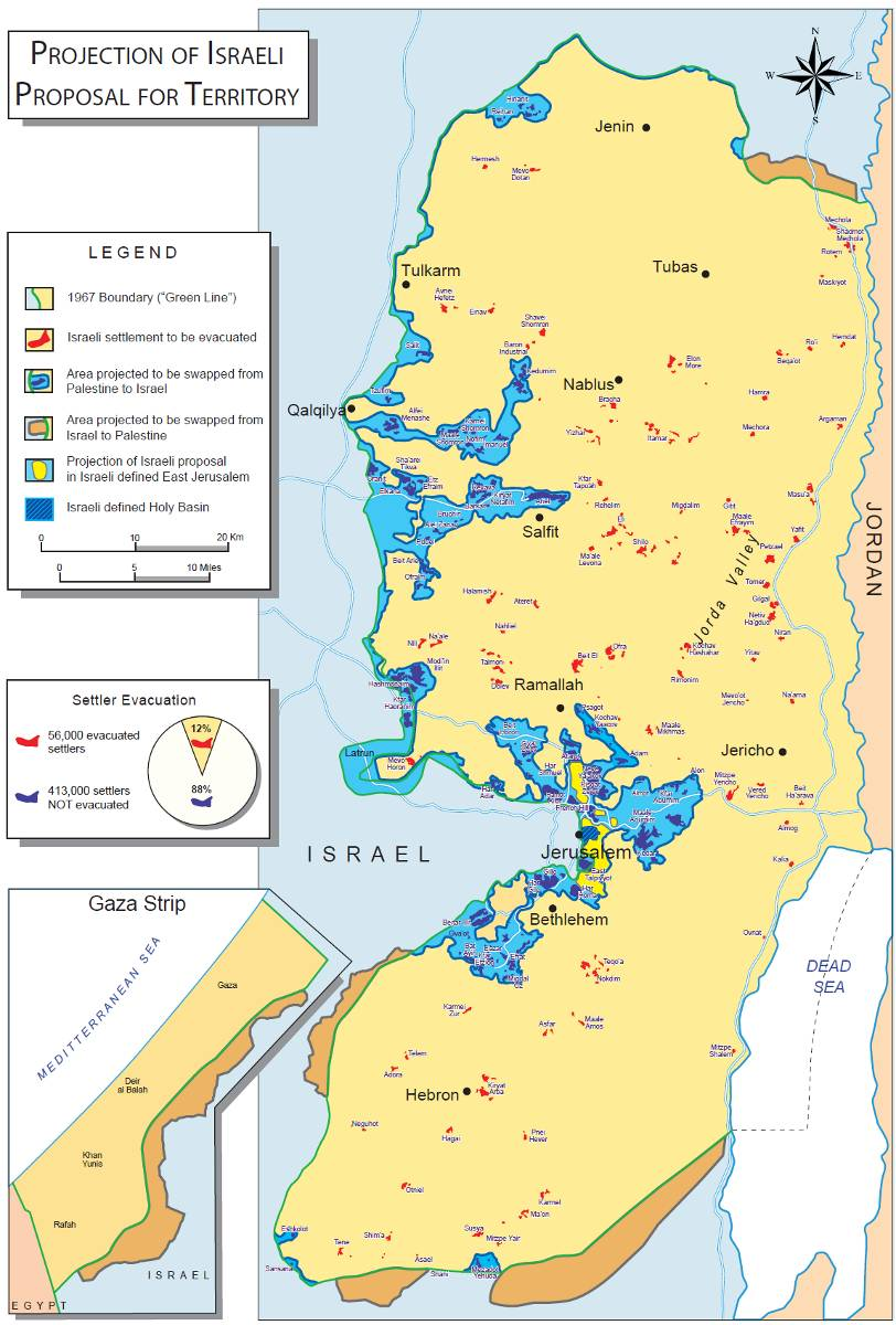 Cartina Fisica Palestina.I Tre Principi Della Dinamica Palestinese Israele Net Israele Net