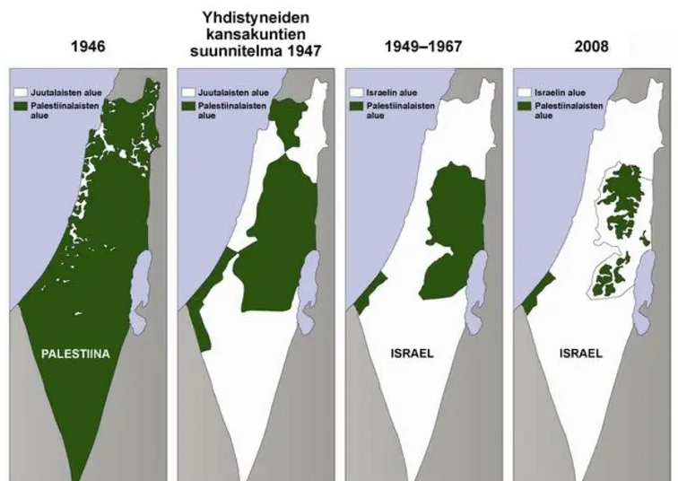 Israele Palestina Cartina.La Mappa Delle Menzogne Di Abu Mazen Israele Net Israele Net